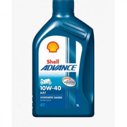 Shell ADVANCE 4T AX7 10W-40 1L