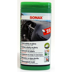SONAX - Čistící utěrky na plasty (25ks)