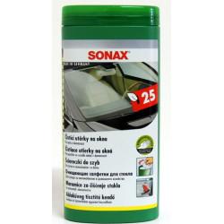 SONAX - Čistící utěrky na okna (25ks)