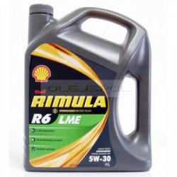 Shell Rimula R6LME 5W-30 4L